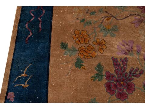 Antique Art Deco Chinese  Rug 8 X 10