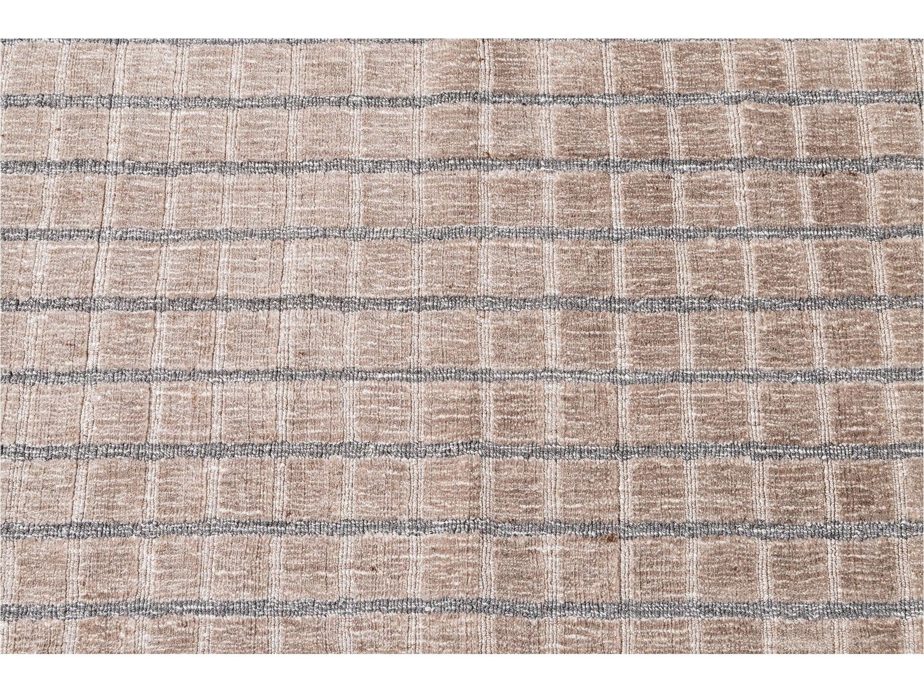 Hand-knotted Wool Custom Rug