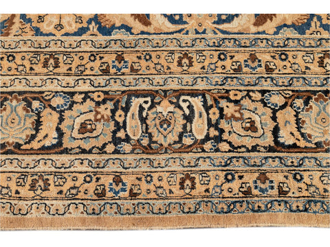 Antique Tabriz Wool Rug 10 X 13