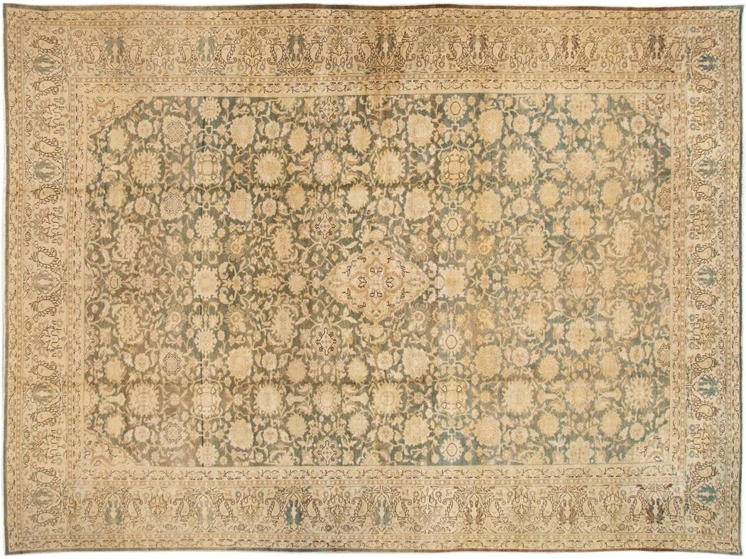 Early 20th Century Antique Malayer Rug 12 X 17