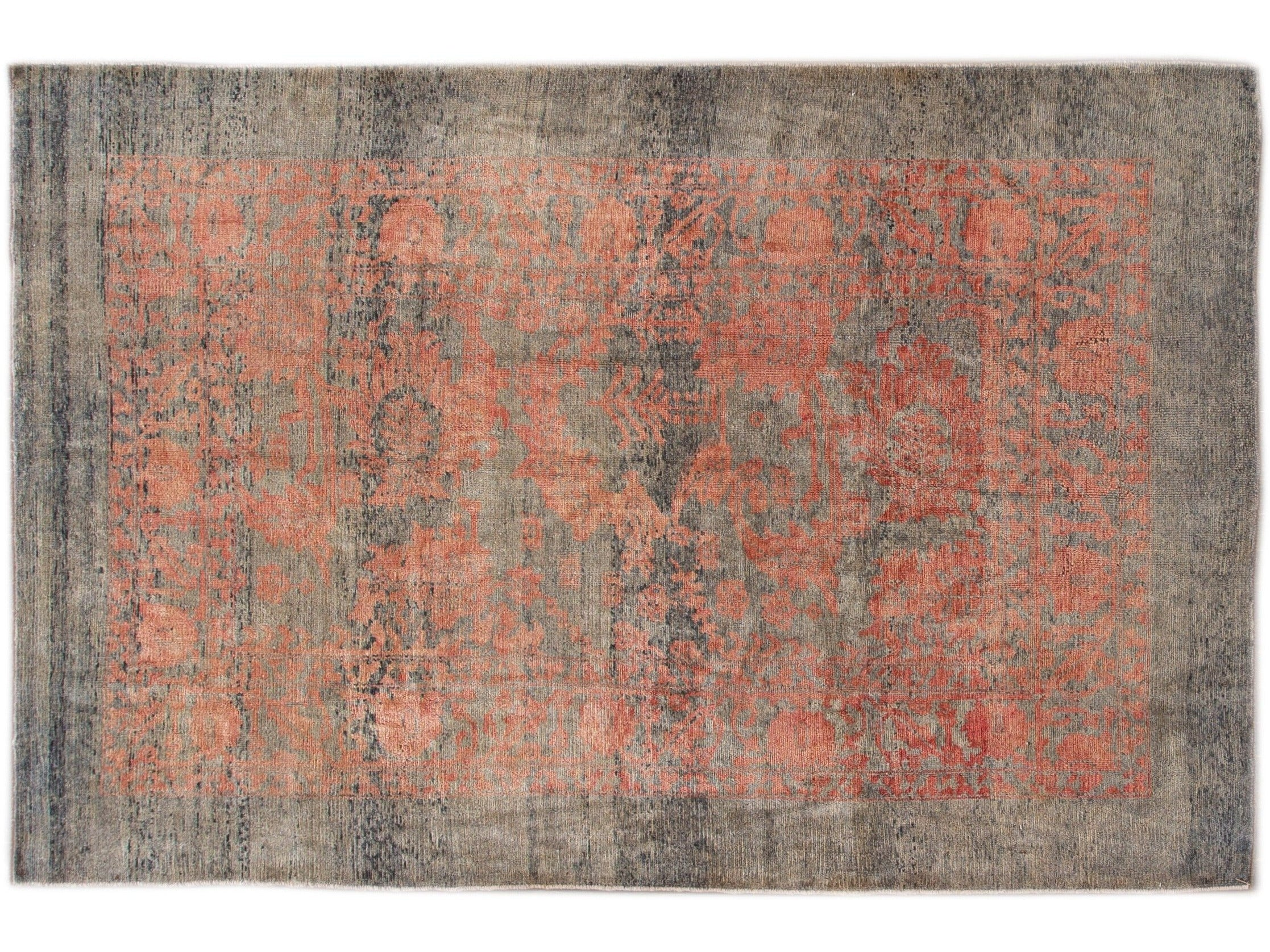 Modern Revival Wool Rug 6 X 10