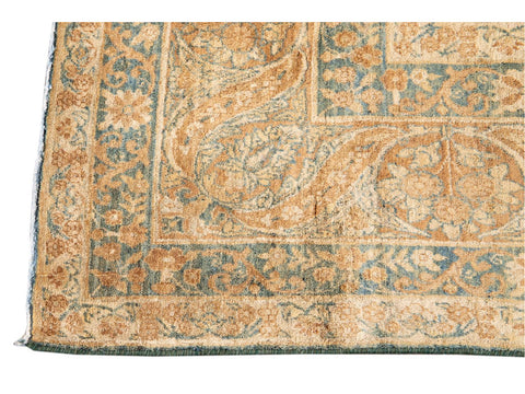Early 20th Century Antique Kerman Wool Rug 10 X 16