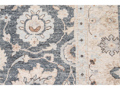 Wilton Collection Hand-Woven Wool Custom Contemporary Rug