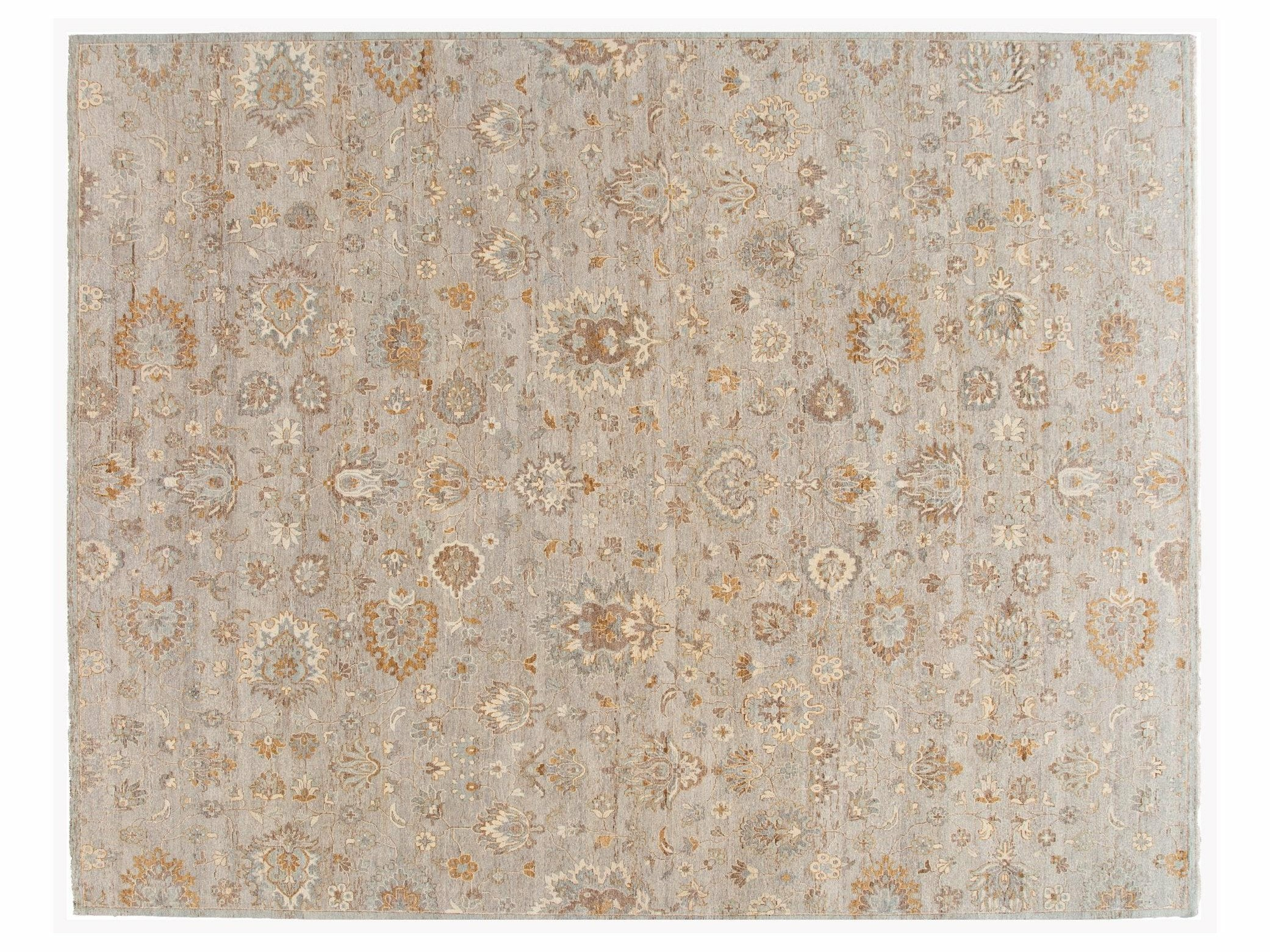 21st Century Contemporary Indian Wool Rug, 12 X 15