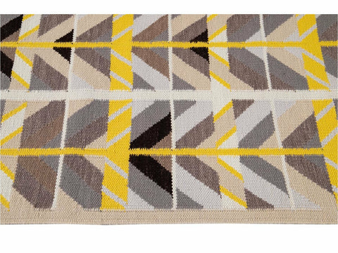 Modern Swedish Style Wool Runner Rug 3 X 18