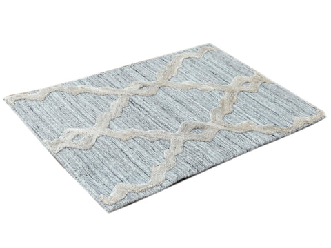 Contemporary Flatweave Custom Wool Rug
