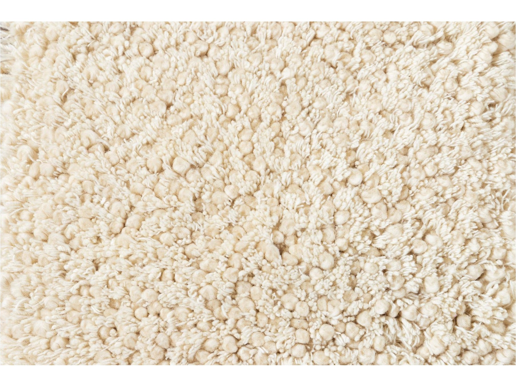 Easton Collection Textured Wool Custom Shag Rug