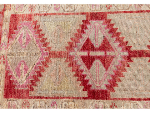 20th Century Vintage Turkish Anatolian Runner Rug, 3 X 13