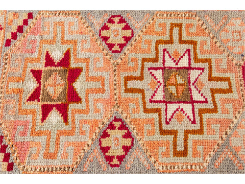 20th Century Vintage Turkish Anatolian Runner Rug, 3 X 11