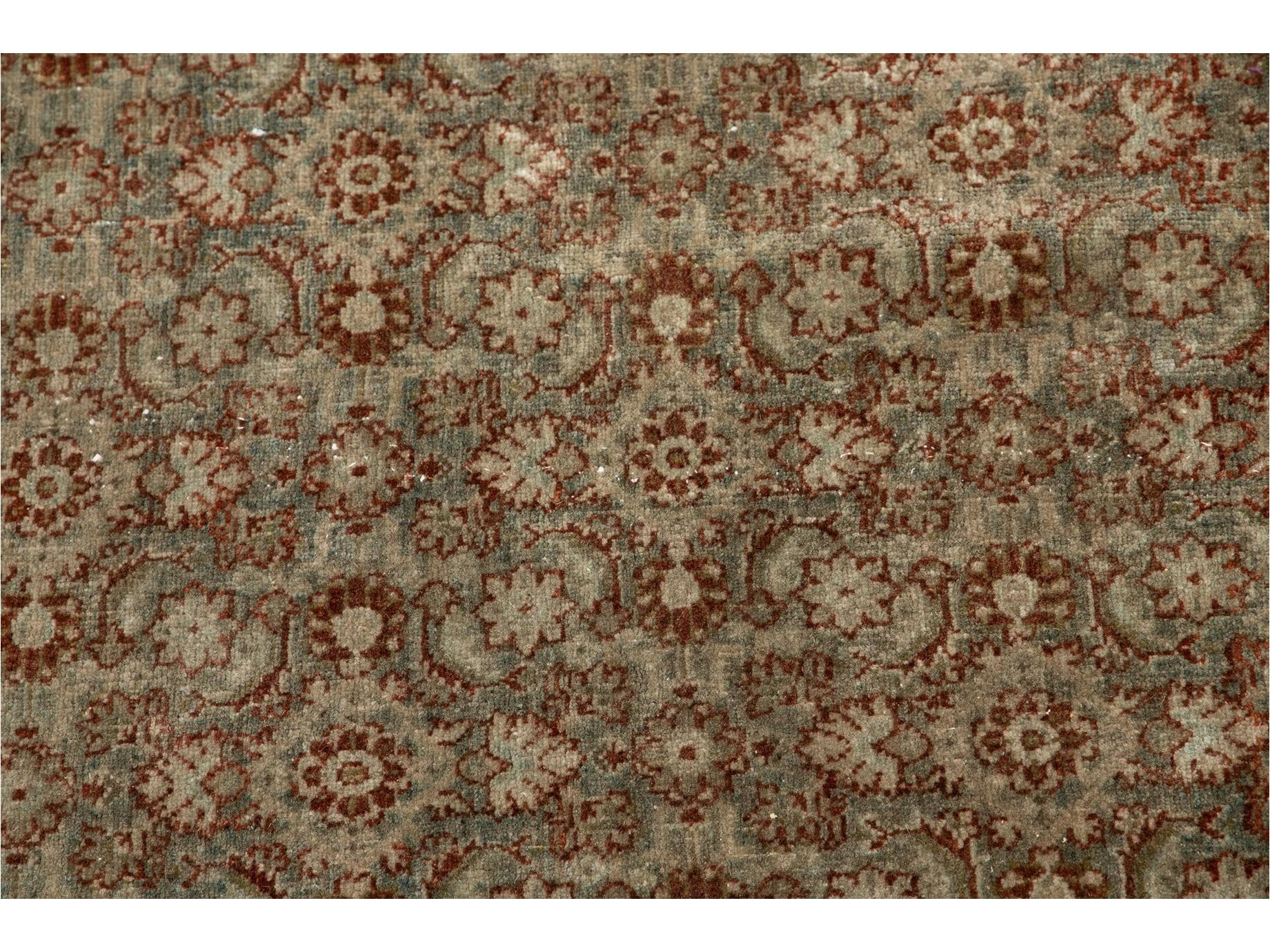Early 20th Century Antique Tabriz Wool Rug 9 X 12