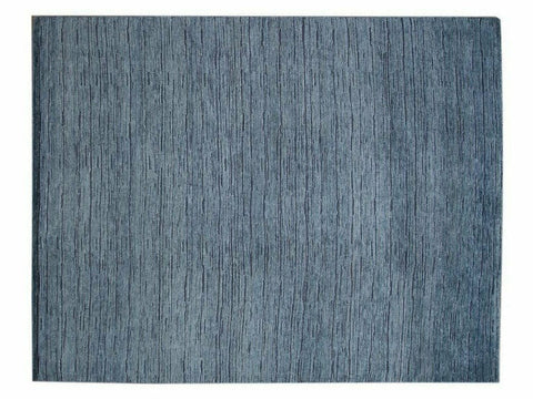 21st Century Modern Textured High Low Wool Rug, 12' x 15'