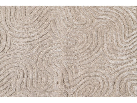 Tufted Wool & Silk Custom Rug