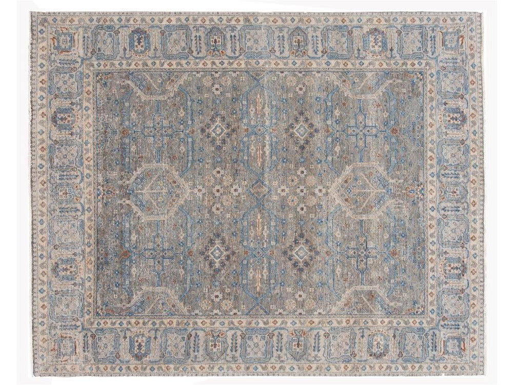 21st Century Contemporary Wilton Indian Wool Rug 8 X 10