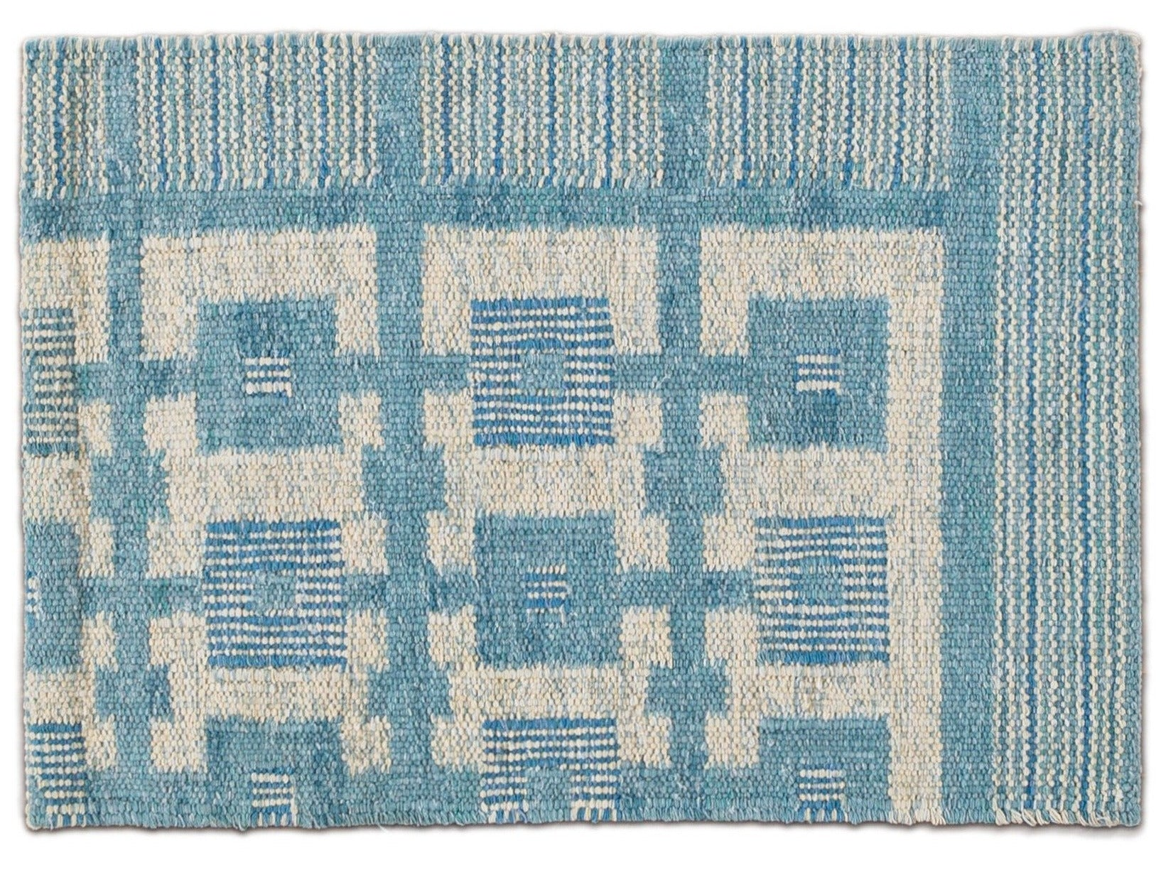 Cotton Scandinavian-style Kilim Custom Rug