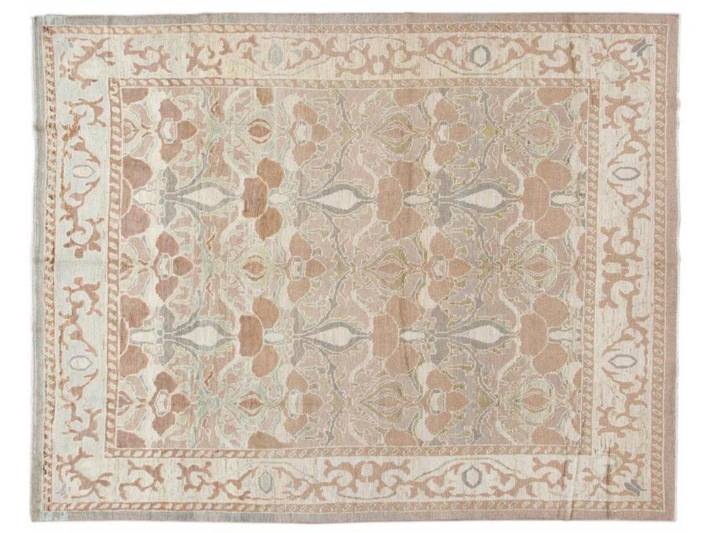 New Contemporary Art & Crafts Style Wool Rug 10 X 12