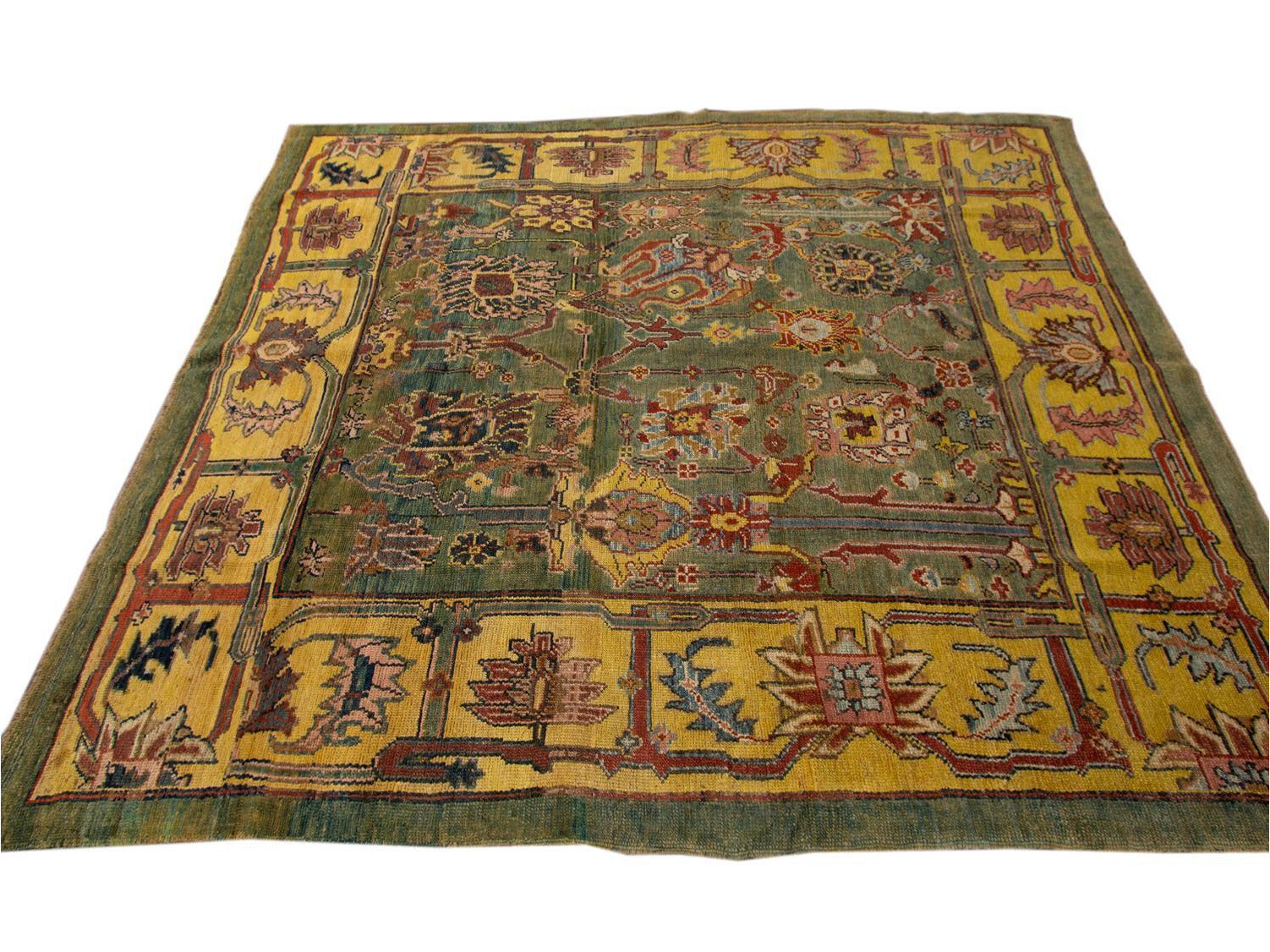 Vintage Bakshaish Tribal Wool Rug 7 X 8