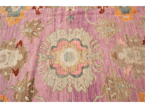 21st Century Sultanabad Persian Wool Rug 12 X 16