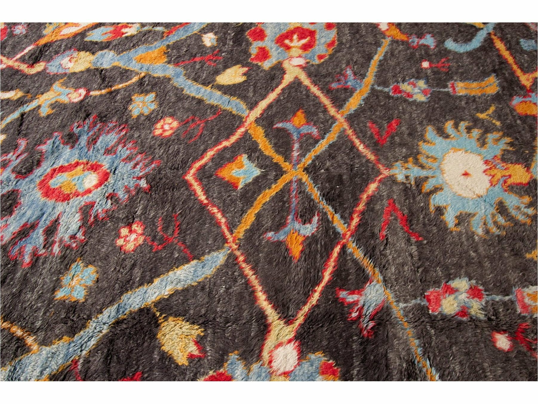 21st Century Modern Moroccan-Style Oversize Wool Rug