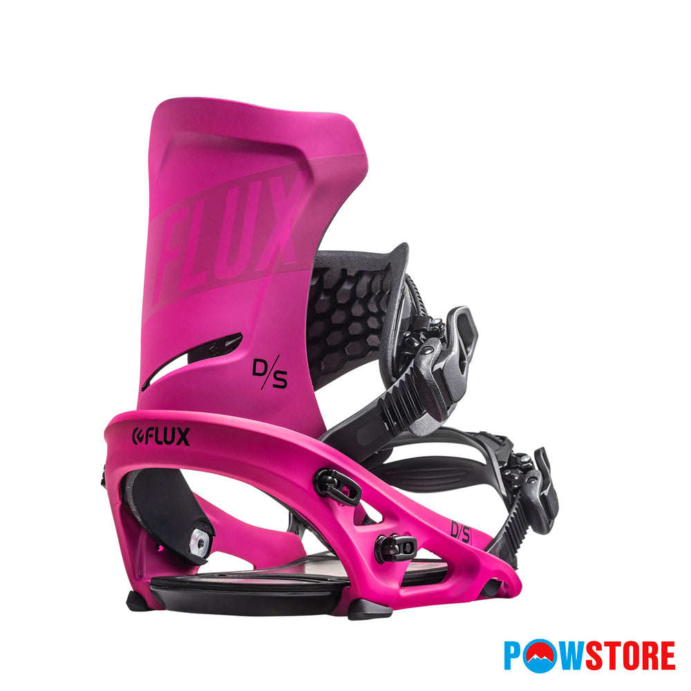 Snowboard-Bindings Flux Flux DS Neon Pink L - 2019/2020