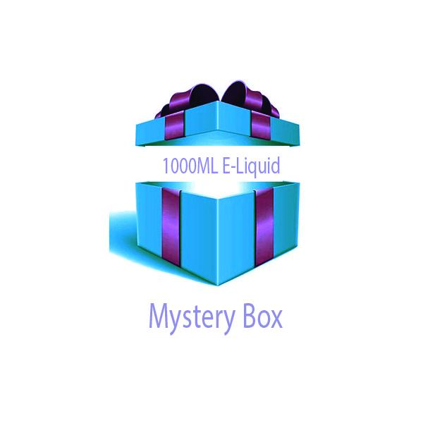 1000ml E-liquid MYSTERY BOX + Nic Shots - Flavourclouds Discount Vape