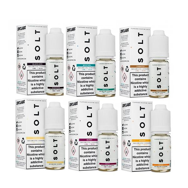 20MG SOLT 10ML Flavoured Nic Salts - Flavourclouds Discount Vape
