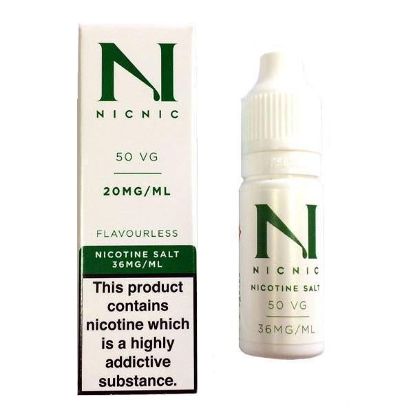 20mg Nic Salt 10ml by Nic Nic (50VG-50PG) - Flavourclouds Discount Vape