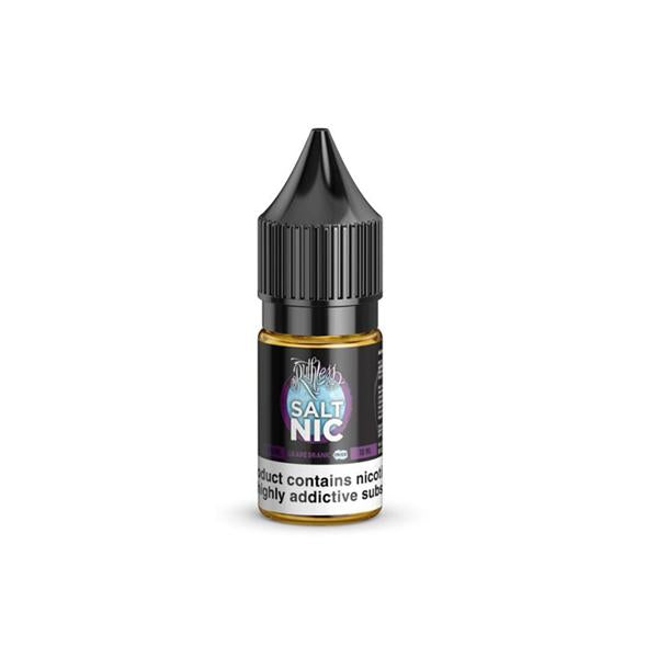 20mg Ruthless 10ml Flavoured Nic Salts (50VG/50PG) - Flavourclouds Discount Vape