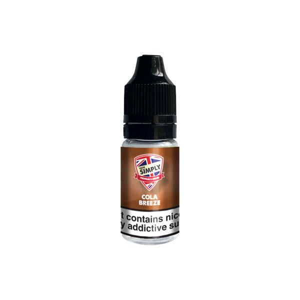 Vape Simply 6mg 10ml E-liquid - Flavourclouds Discount Vape