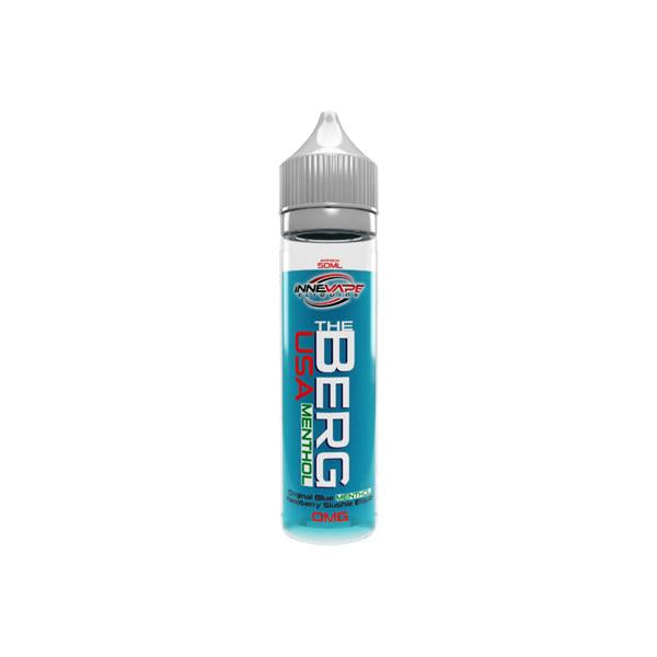 The Berg Menthol by Innevape 0mg 50ml Shortfill (80VG-20PG) - Flavourclouds Discount Vape