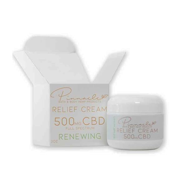 Pinnacle Hemp Full Spectrum Relief Cream 500mg CBD - Flavourclouds Discount Vape