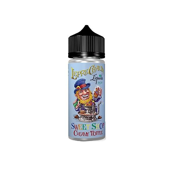 Leprechaun Sweet Shop 120ml (80ml Shortfill + 4 x 10ml Nic Shots) (70VG/30PG) - Flavourclouds Discount Vape