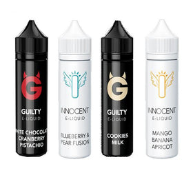 Ohm Brew Innocent & Guilty Range 0mg 50ml E-liquid (70VG/30PG)