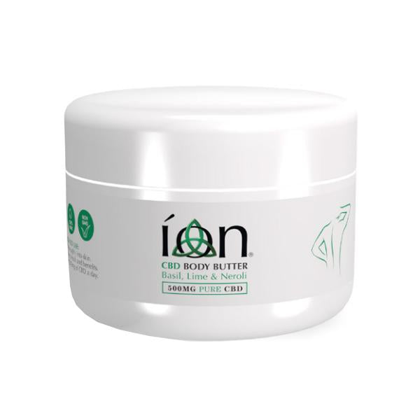 ION Pure CBD Body Butter 500mg CBD 150ml - Flavourclouds Discount Vape