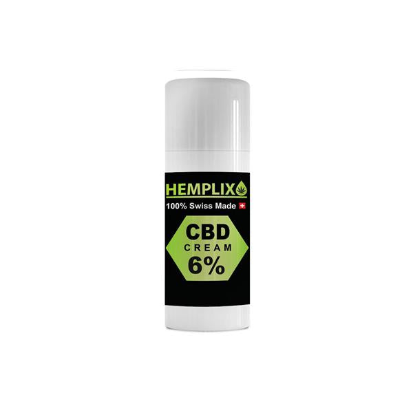 Hemplix 6% 450mg CBD Cream 75ml - Flavourclouds Discount Vape