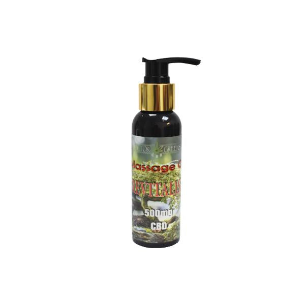 Doctor Green's 500mg CBD Massage Oil 100ml - Revitalise - Flavourclouds Discount Vape