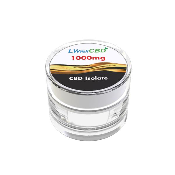 LVWell CBD 99%  Isolate 1000mg CBD - Flavourclouds Discount Vape