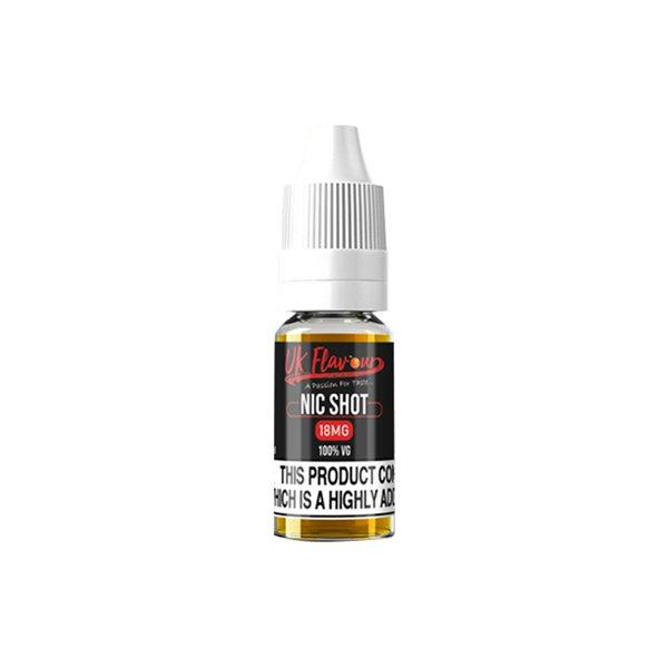 UK Flavour Nic Shot 18mg 10ml (100VG) - Flavourclouds Discount Vape