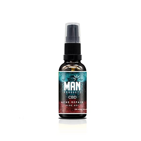 MAN 30mg CBD Acne Repair Gel 30ml - Flavourclouds Discount Vape