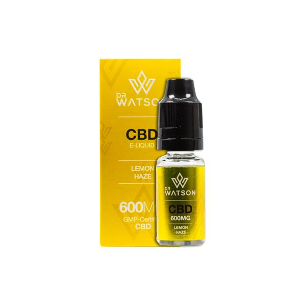 Dr Watson 600mg CBD Vaping Liquid 10ml - Flavourclouds Discount Vape