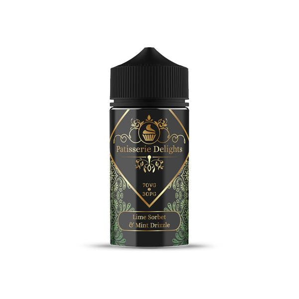 Patisserie Delights 0mg 100ml Shortfill (70VG/30PG) - Flavourclouds Discount Vape