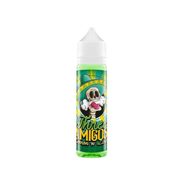 Three Amigos 0mg 50ml Shortfill (70PG/30VG) - Flavourclouds Discount Vape