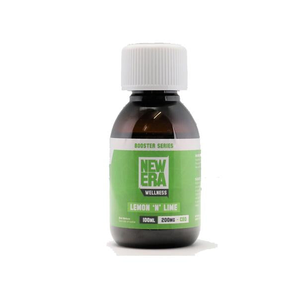 New Era Wellness 200mg CBD Booster 100ml - Flavourclouds Discount Vape