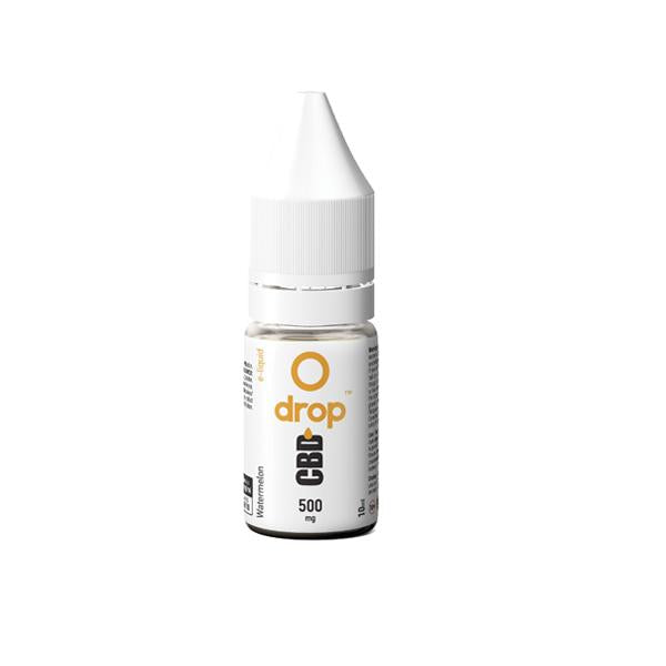 Drop CBD Flavoured E-Liquid 500mg 10ml - Flavourclouds Discount Vape
