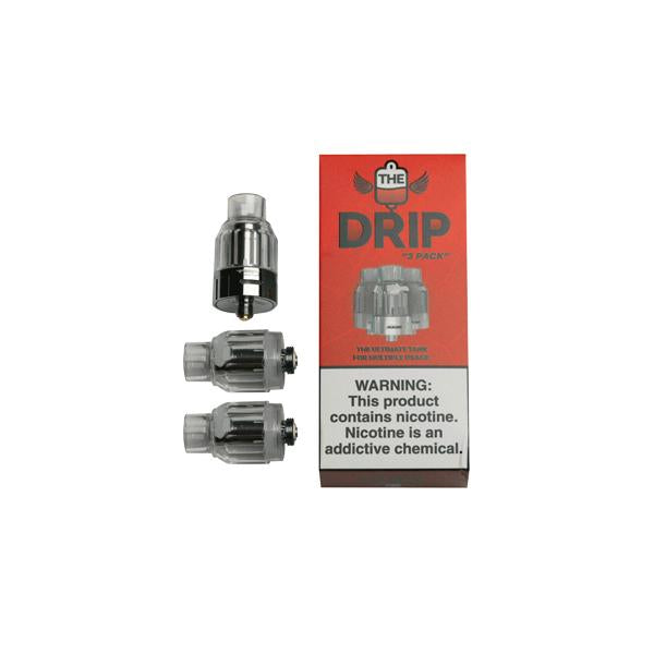 3 x Dr. Vapes - The Drip Tank - Flavourclouds Discount Vape