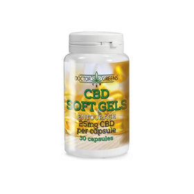 Doctor Green's 25mg CBD Softgels - 30 Softgels