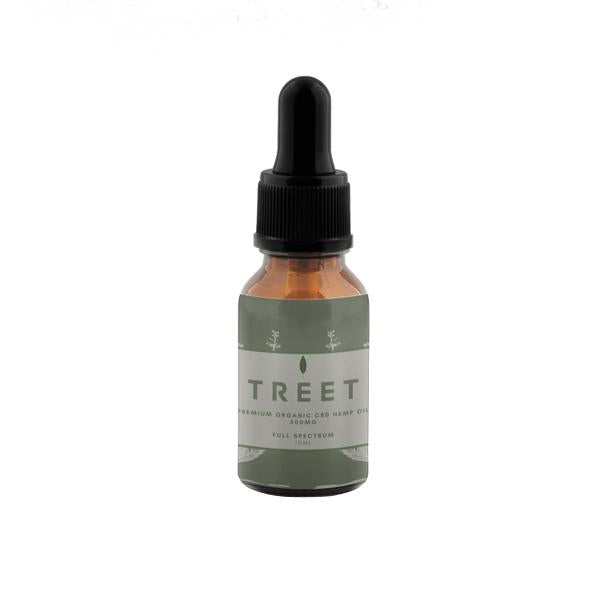 TREET 500mg CBD Organic Full Spectrum CBD Oil 10ml - Flavourclouds Discount Vape