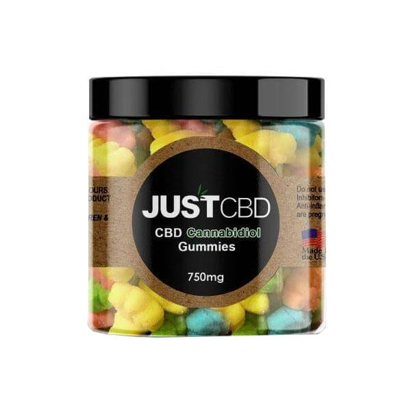 Just CBD  Flavoured Gummies 750mg CBD - Flavourclouds Discount Vape