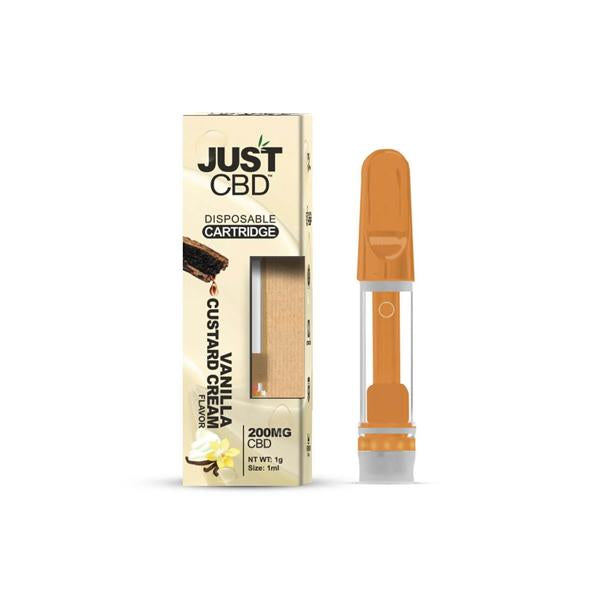 Just CBD Vape Cartridge 200mg CBD 1ml - Flavourclouds Discount Vape