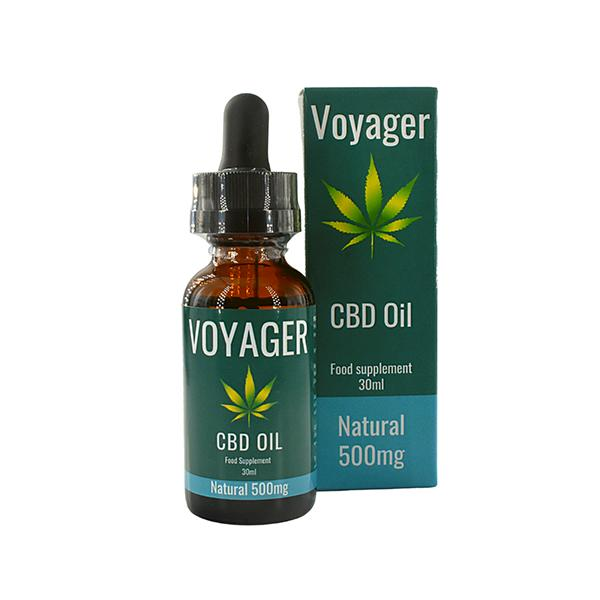 Voyager 500mg CBD Oil 30ml - Flavourclouds Discount Vape