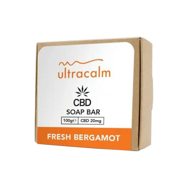 Ultracalm 20mg CBD Luxury Essential Oil CBD Soap bar 100g - Flavourclouds Discount Vape